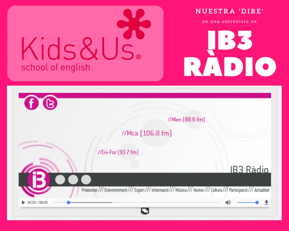 post kids Mallorca ib3 radio