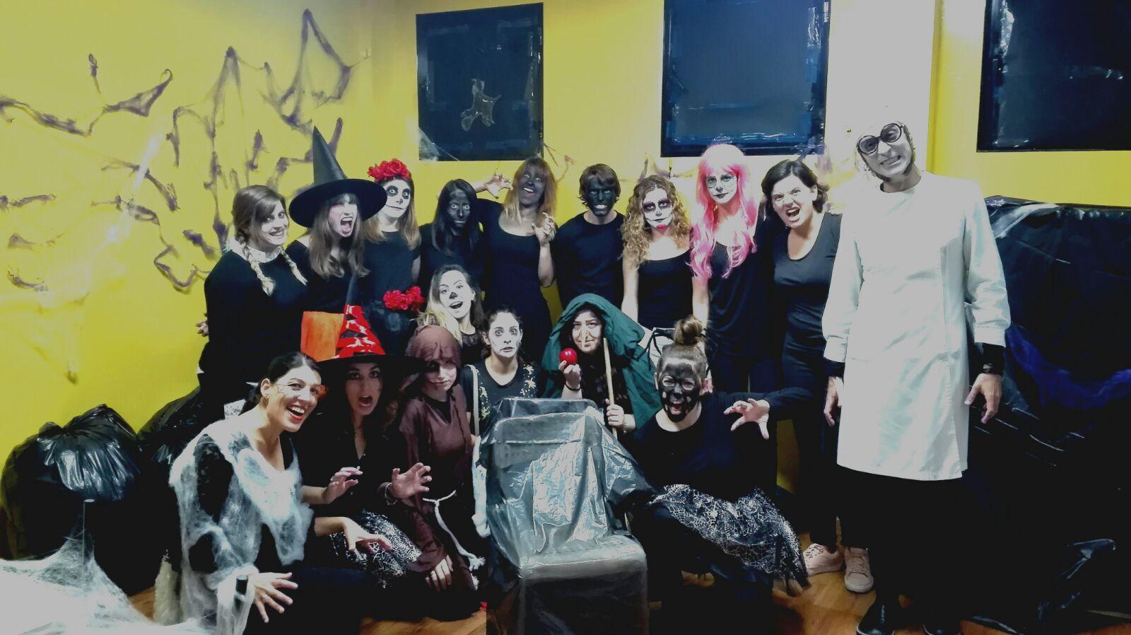 Halloween clases de inglés Mallorca
