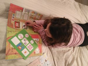 sticker book y kids&us