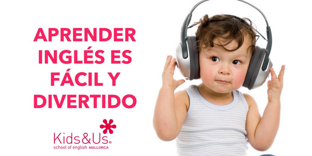 KIDS blog aprendizaje ingles FACIL