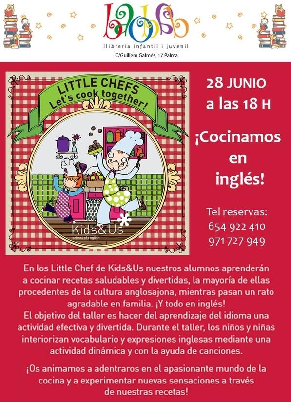taller de cocina niños- Baobab Palma- Kids and Us Mallorca