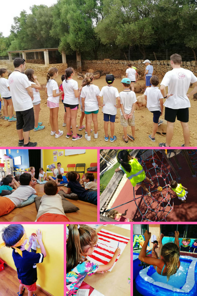 verano actividades Kids and us Mallorca