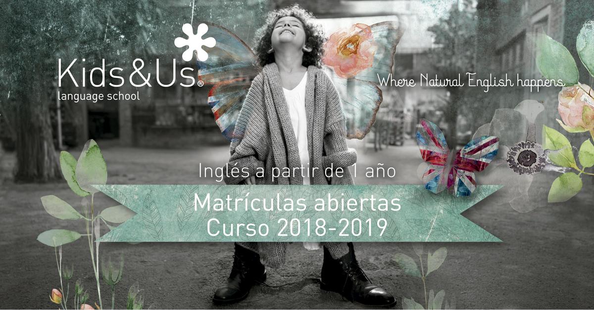 Matrícula 2018 2019
